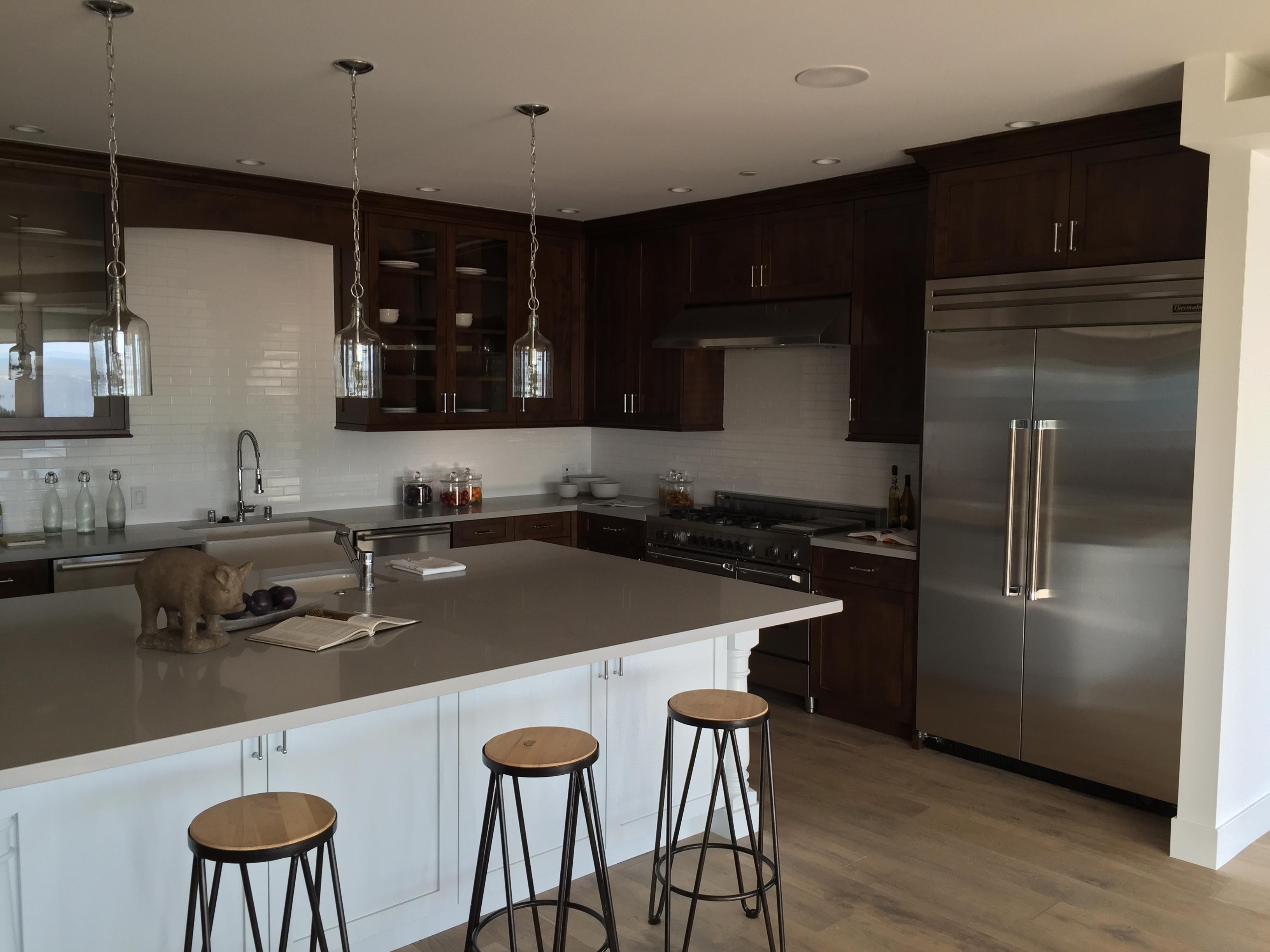 Modern style open space kitchen hefford for Modern open kitchen